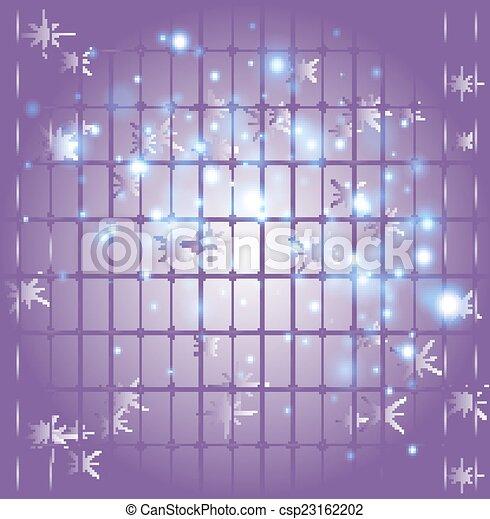 Trasfondo púrpura estrella - csp23162202