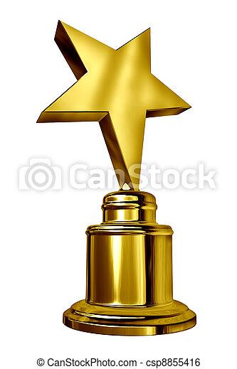 estrella, premio - csp8855416