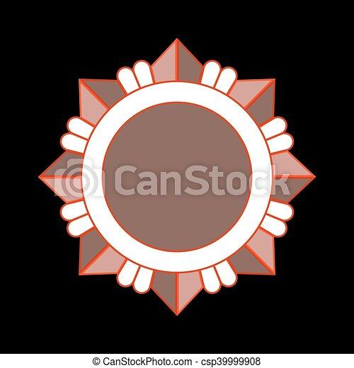 Orden de estrellas de Bronce - csp39999908