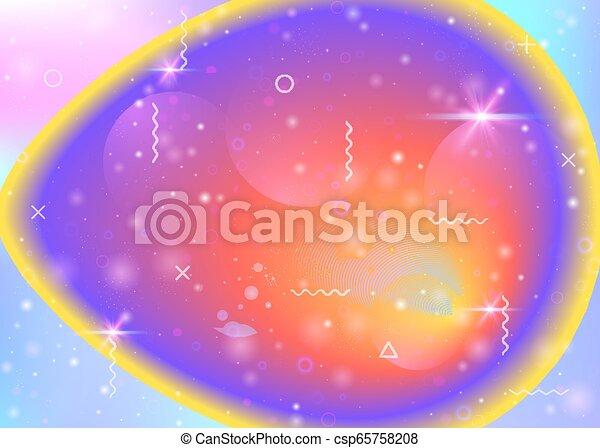 Cosmos fondo con formas de galaxias y universos y polvo de estrellas. - csp65758208