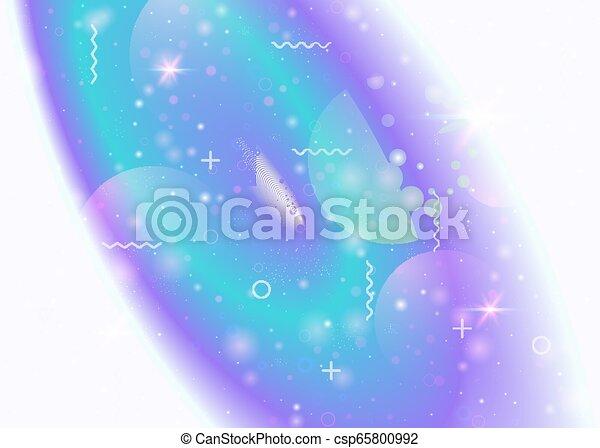Trasfondo galáctico con cosmos y formas del universo y polvo de estrellas. - csp65800992