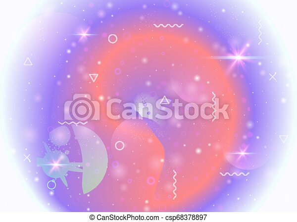Trasfondo galáctico con cosmos y formas del universo y polvo de estrellas. - csp68378897
