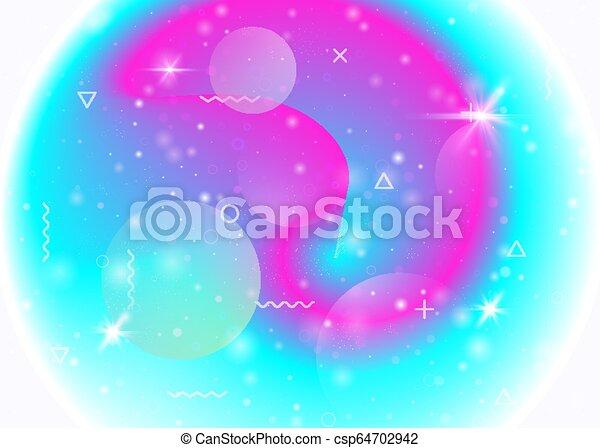 Trasfondo galáctico con cosmos y formas del universo y polvo de estrellas. - csp64702942