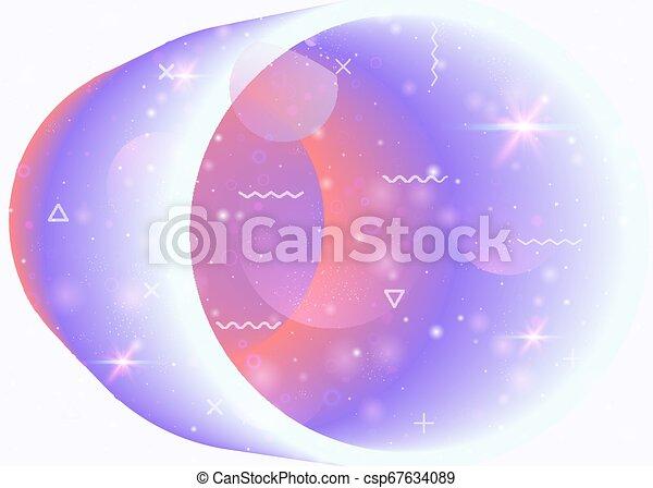 Cosmos fondo con formas de galaxias y universos y polvo de estrellas. - csp67634089