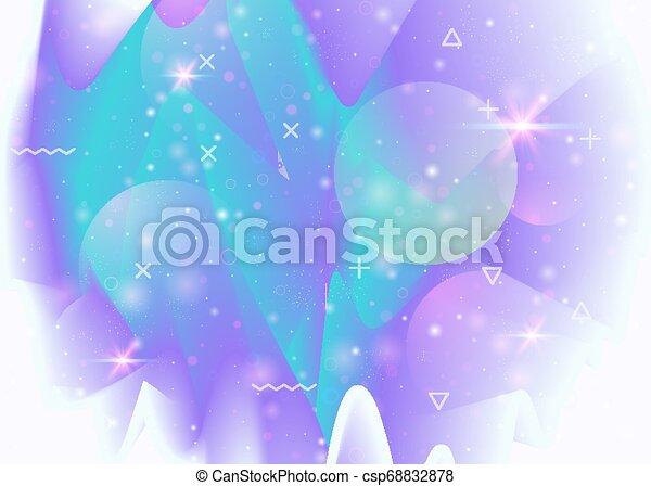 Trasfondo galáctico con cosmos y formas del universo y polvo de estrellas. - csp68832878
