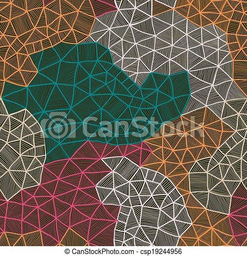 Trasfondo Abstracto Vector Estructura Celular Constelación