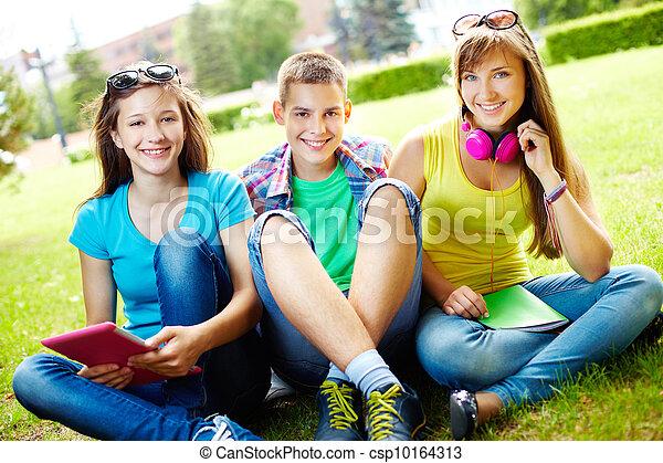 estudantes, lazer - csp10164313