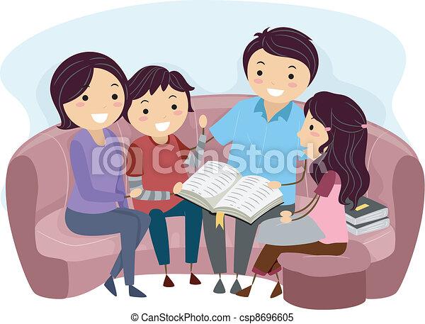 estudio, biblia - csp8696605
