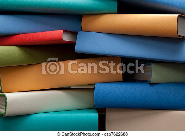 Libros de educación - csp7622688