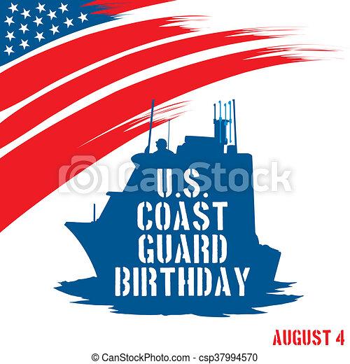 etats, garde, uni, anniversaire, côte - csp37994570