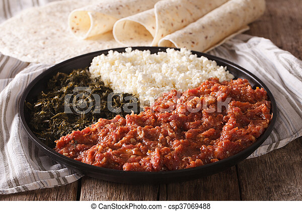 how to make ethiopian food kitfo