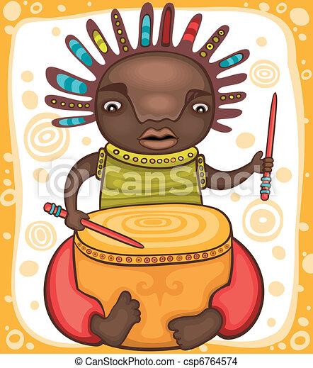 Ethnic, boy 2 - csp6764574