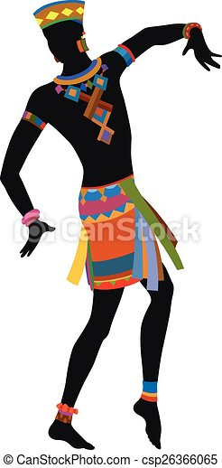 ethnic dance african man african dance ritual dance in the clip rh canstockphoto com african clip art free african clip art designs
