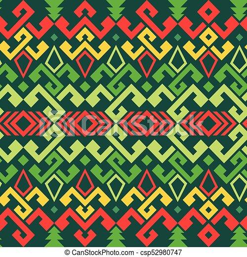 ethnic Pattern - csp52980747