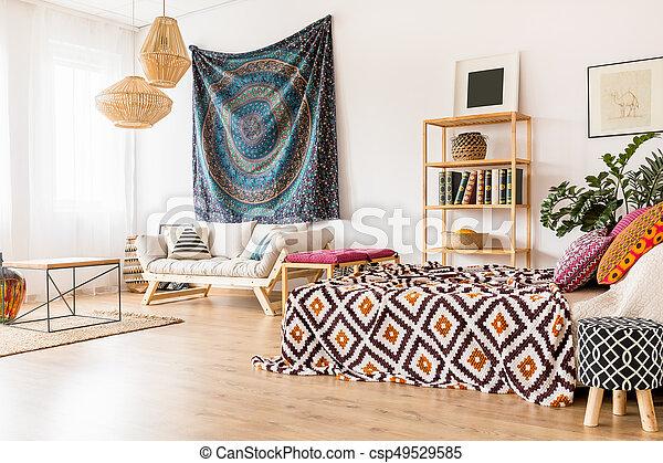 Ethnic Studio Interior   Csp49529585