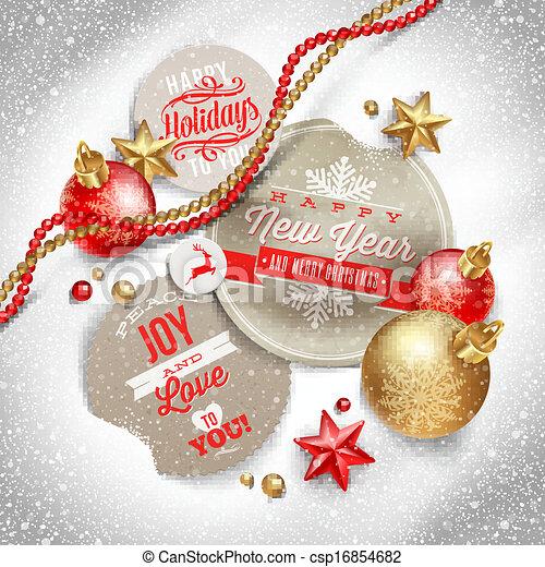 Weihnachten Grüße Bilder.Etiketten Weihnachten Grüße