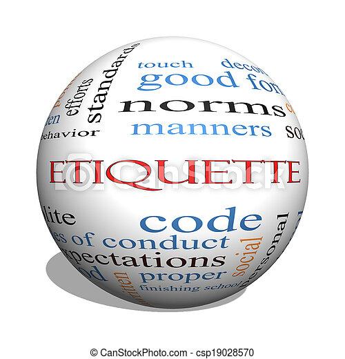 etiqueta, concepto, palabra, esfera, nube, 3d - csp19028570