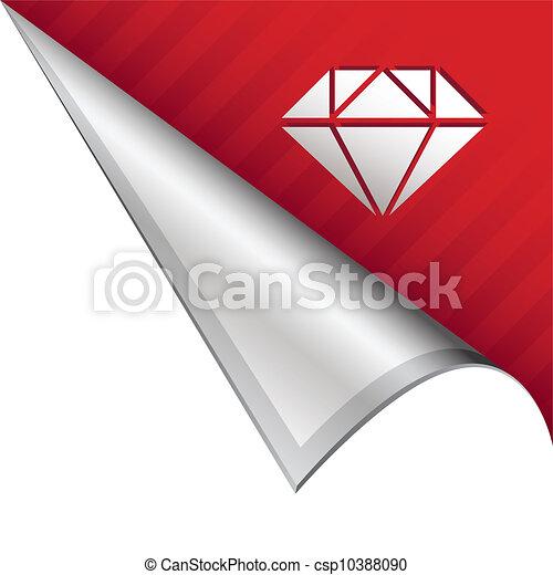 La cuenta de la esquina de Diamond - csp10388090