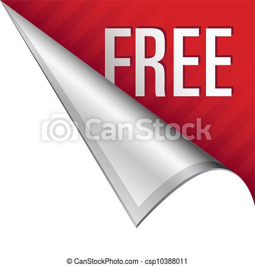 Una cuenta gratis - csp10388011