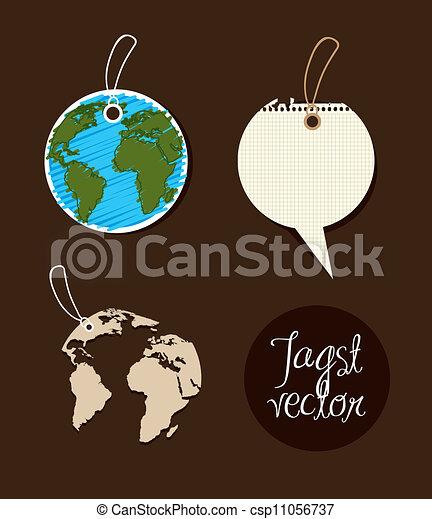 Las etiquetas del planeta - csp11056737