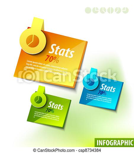etykiety, infographics - csp8734384