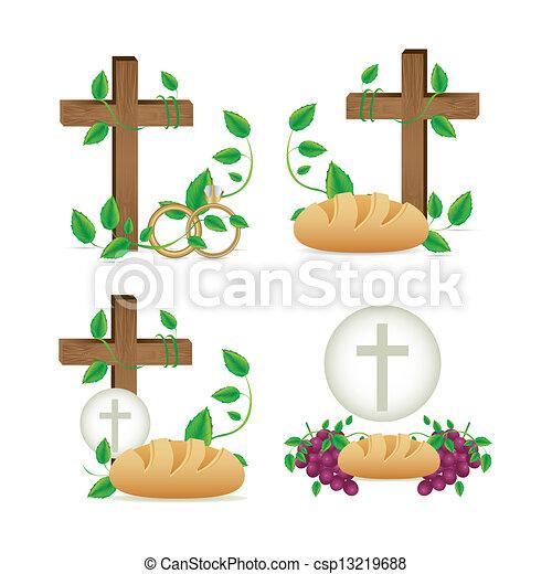 eucharistic, szentség - csp13219688