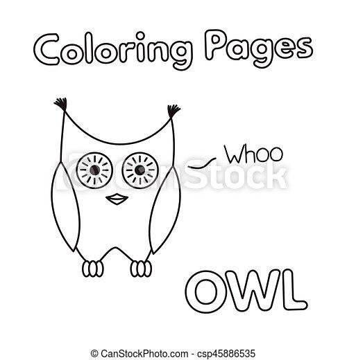 Tolle Eule Färbung Blatt Zeitgenössisch - Ideen färben - blsbooks.com