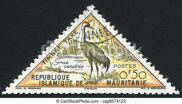 Eurasian crane - csp8374123