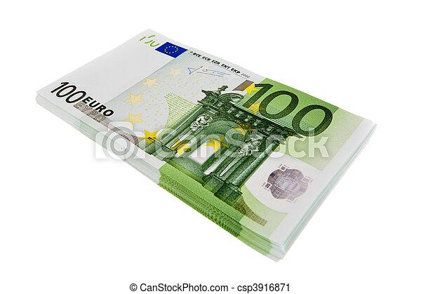 Euro banknotes - csp3916871