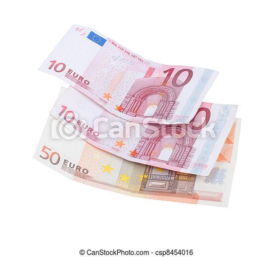 Euro bills - csp8454016