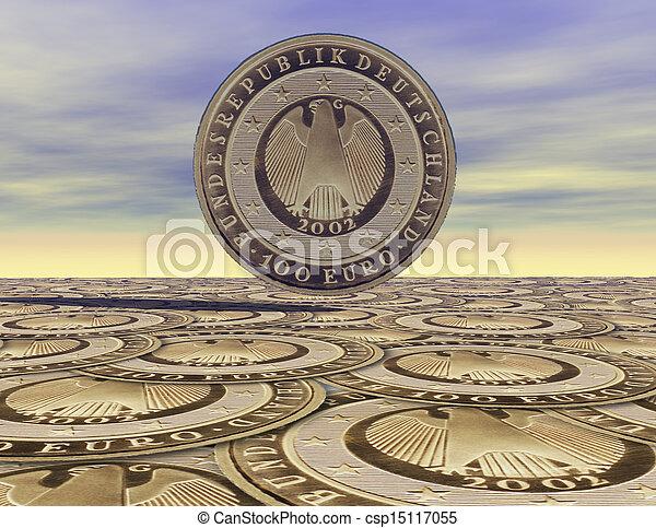 Euro Coins - csp15117055