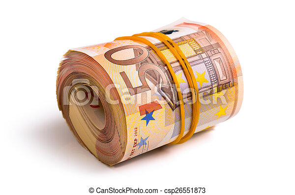 euro, rolado - csp26551873