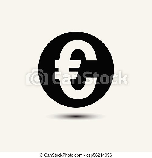 Euro Sign Icon Euro Currency Symbol Money Label Euro Sign Icon