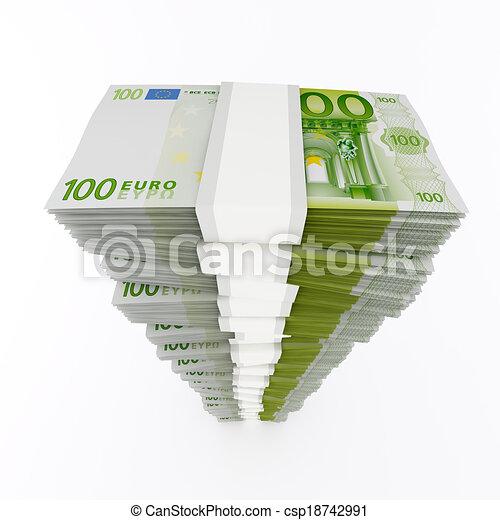 Euro stack - csp18742991