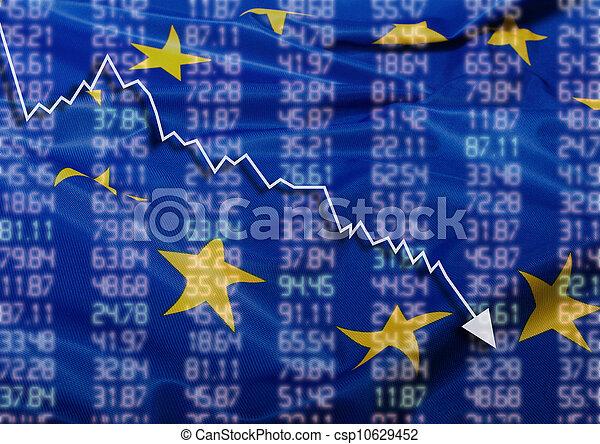 Crisis en Europa - csp10629452