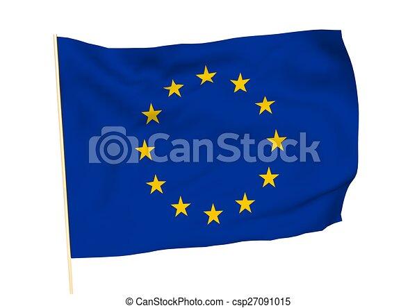 europa, immagine, bandiera - csp27091015