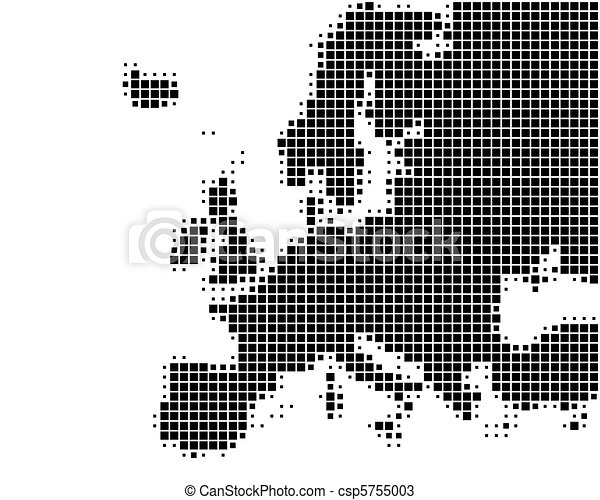 europa, mappa - csp5755003