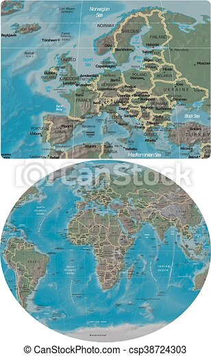 europe and world maps europe enlarged from world map vector clipart rh canstockphoto co uk clip art world flags clipart world cup 2018
