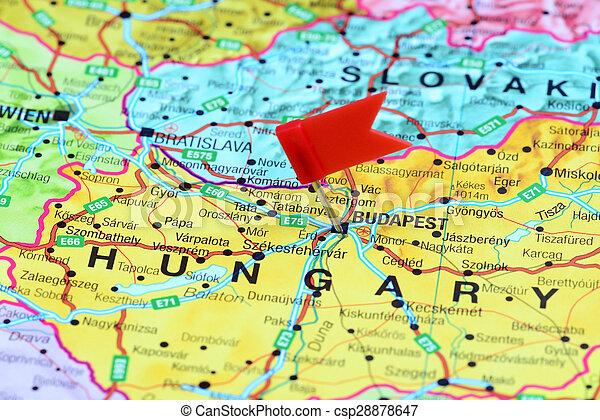 carte europe budapest