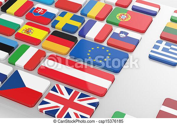 Europe concept - csp15376185