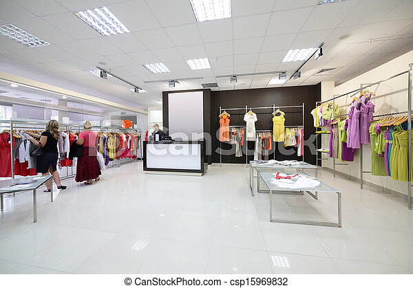 937ecad2c347 European brand new clothes shop. Luxury and fashionable european ...