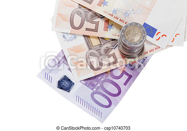 European currencies - csp10740703