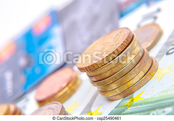 European currency - csp25490461