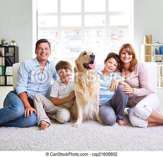 European family - csp21608802