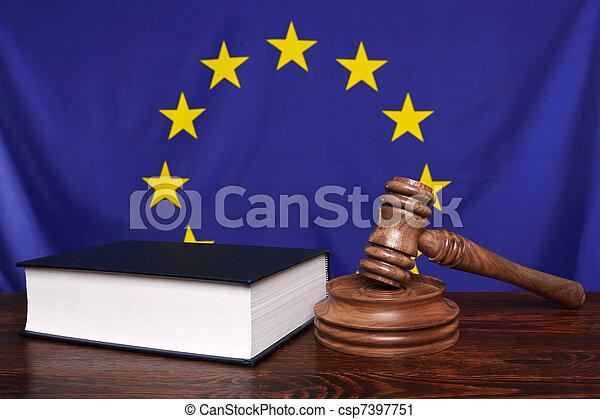 European law - csp7397751