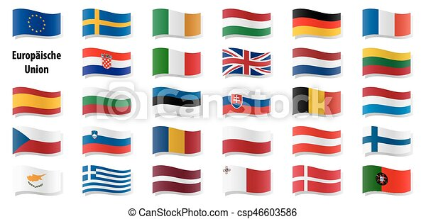 European Union Flags Flags Collection Of All European Union Countries