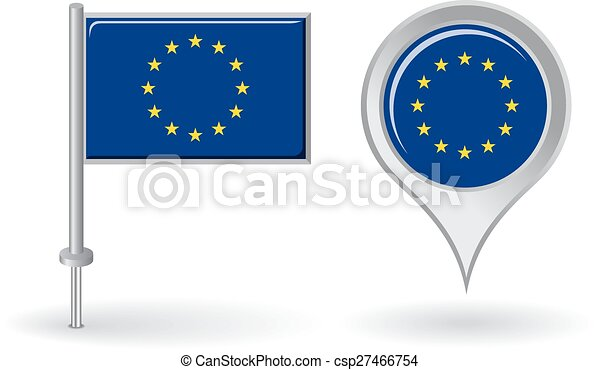 European Union pin icon and map pointer flag. Vector on india map icon, uk map icon, italy map icon, africa map icon, travel map icon, emea map icon, usa map icon, china map icon, russia map icon, mexico map icon, canada map icon, gps map icon, singapore map icon, brazil map icon, japan map icon, hk map icon, pa map icon, asia map icon, regional map icon, europe map icon,