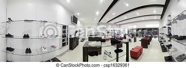 europejczyk, obuwie, zaopatrywać, luksus - csp16329361
