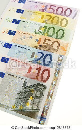 euros - csp12818873