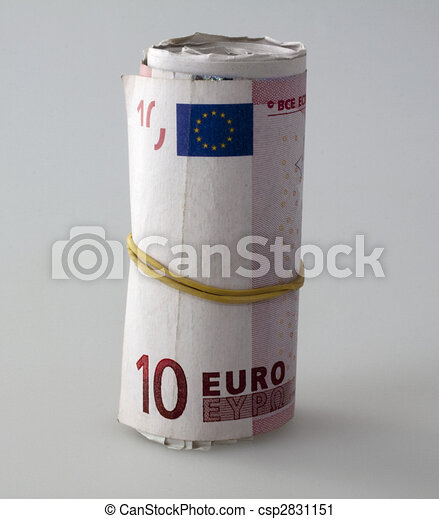 Euros roll - csp2831151